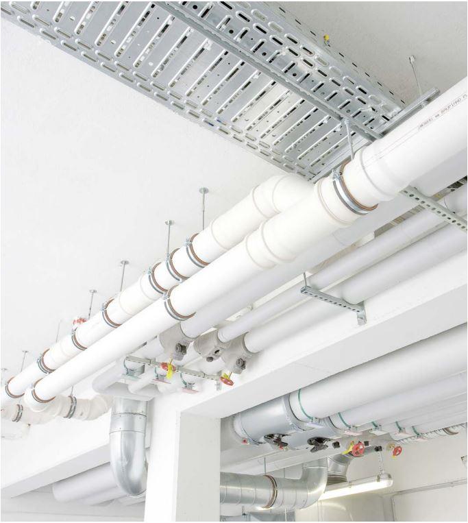 шумопоглощающая система канализации REHAU RAUPIANO Plus