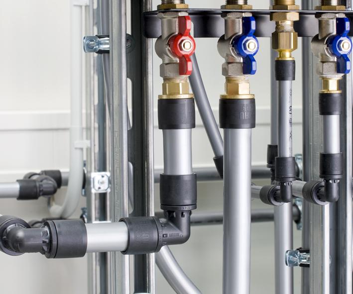 Система REHAU RAUTITAN для водоснабжения